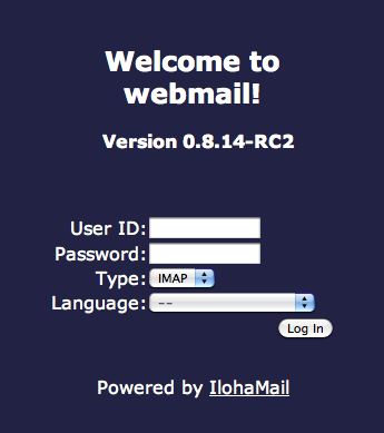 Welcome_to_Iloha_webmail